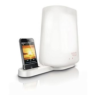 philips wake-up light ipod iphone dock