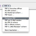 Compress PDF Mac OS X