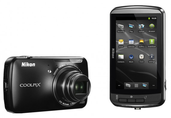 Nikon S800c Android Smart-Cam