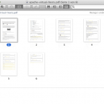 PDF Seiten umsortieren Mac